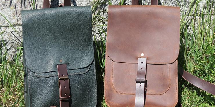 Make A Leather Rucksack