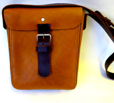 Make a Leather Messenger Bag