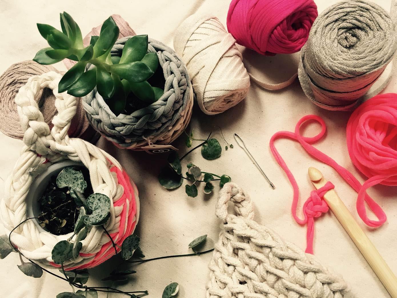 Crochet Your Own Plant Pot