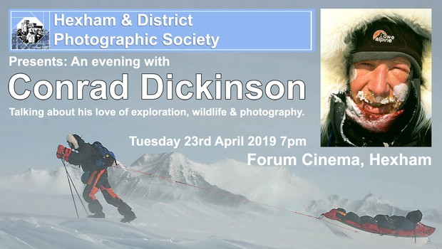 An Evening with Conrad Dickinson