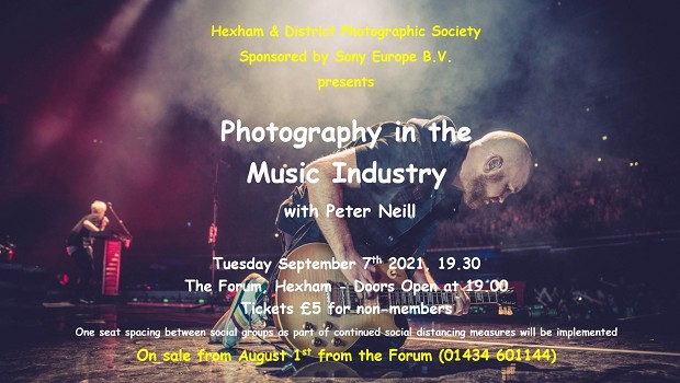 Photography In The Music Industry With Peter Neill