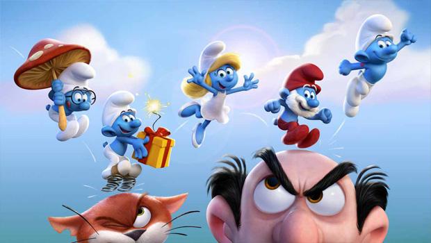 Cine minis: Smurfs: The lost village