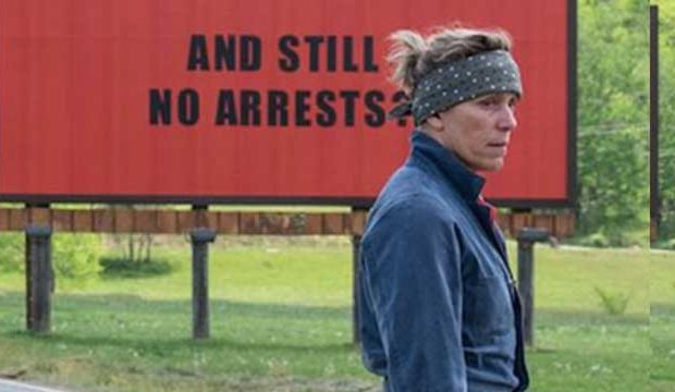 Three Billboards outside ebbing misouri