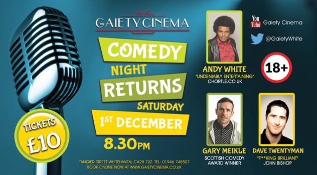 December Comedy Night