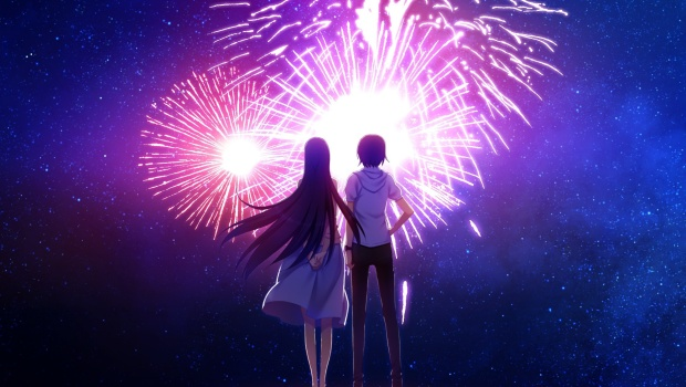 Fireworks - Anime April
