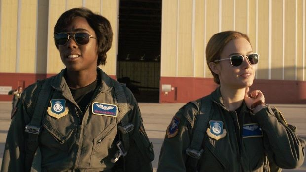 Captain Marvel + Q&A with Lashana Lynch