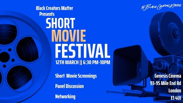 Black Creators Matter: Short Movie Festival