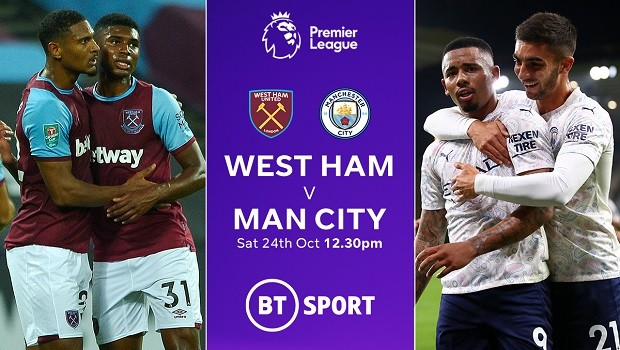 West Ham V Man City