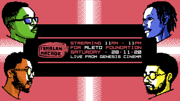 Famalam Arcade 12-Hour Marathon for the Aleto Foundation