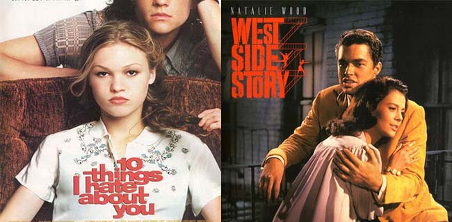 Shakespeare On Film: West Side Story/10 Things I Hate About You