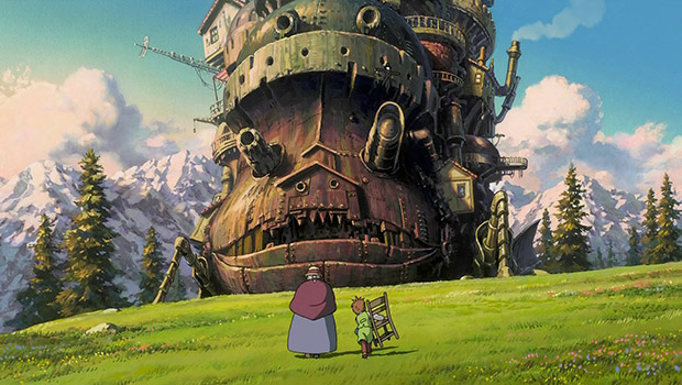 Howl's Moving Castle - Anime April