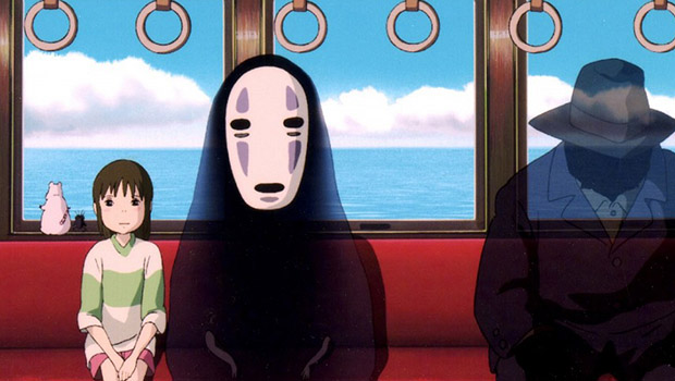Spirited Away - Anime April