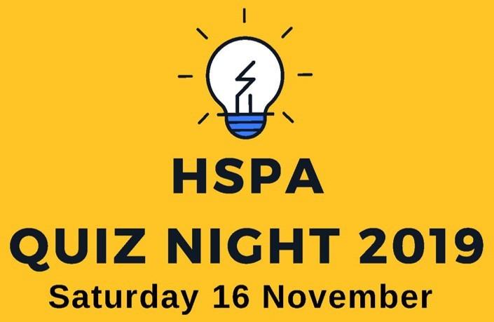 HSPA Quiz Night 2019