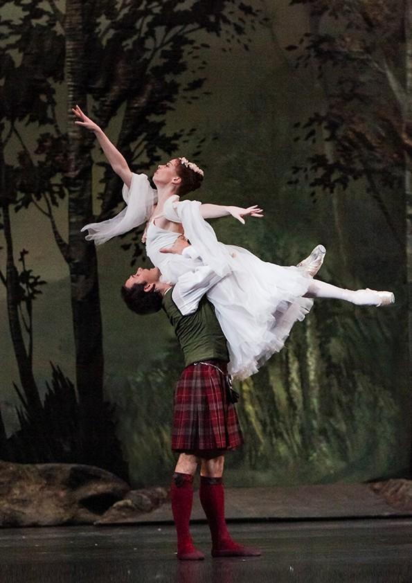 The Bolshoi Ballet- La Sylphide Image