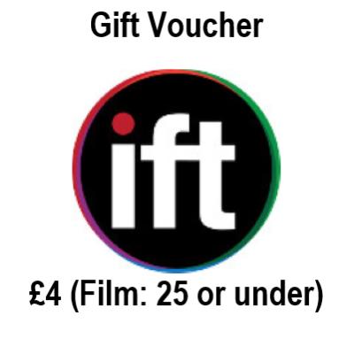 Film Gift Voucher 25 or under