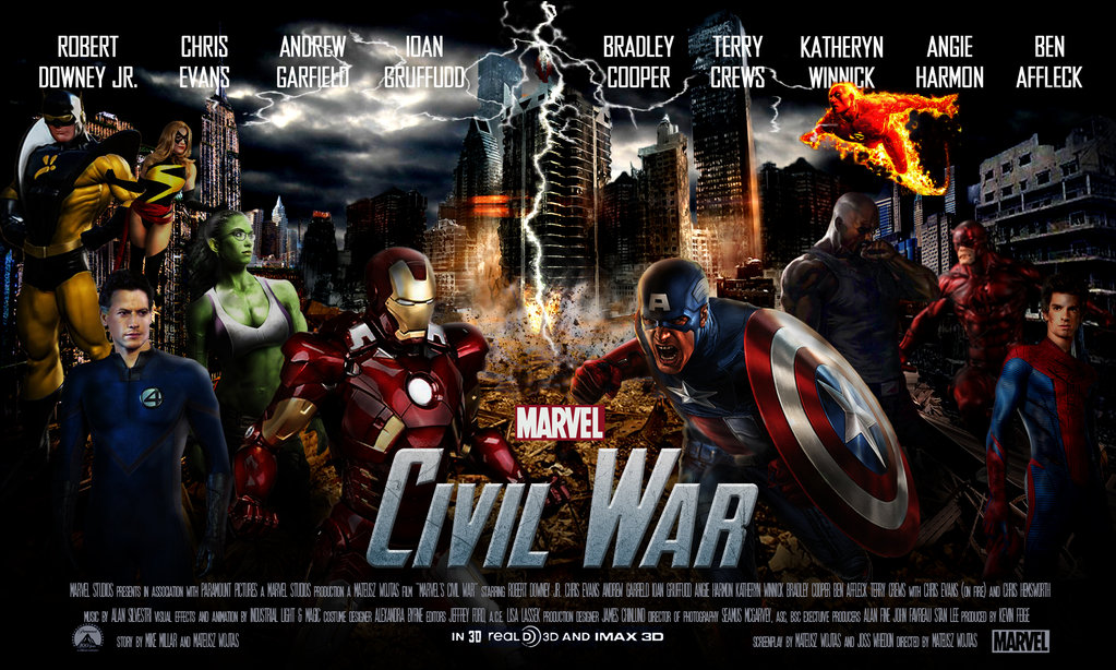 CAPTAIN AMERICA CIVIL WAR 3D