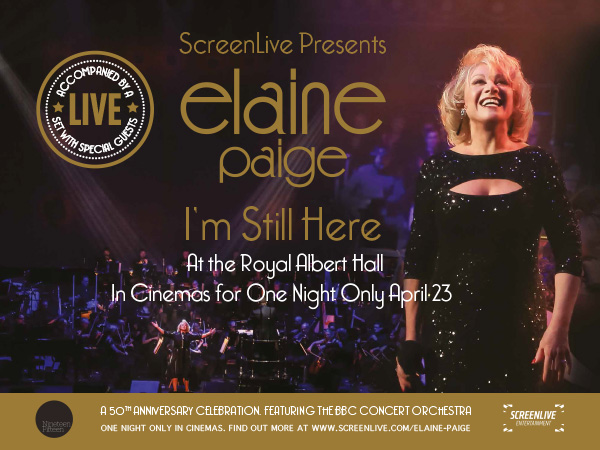 I'm Still Here: Elaine Paige at the Royal Albert Hall