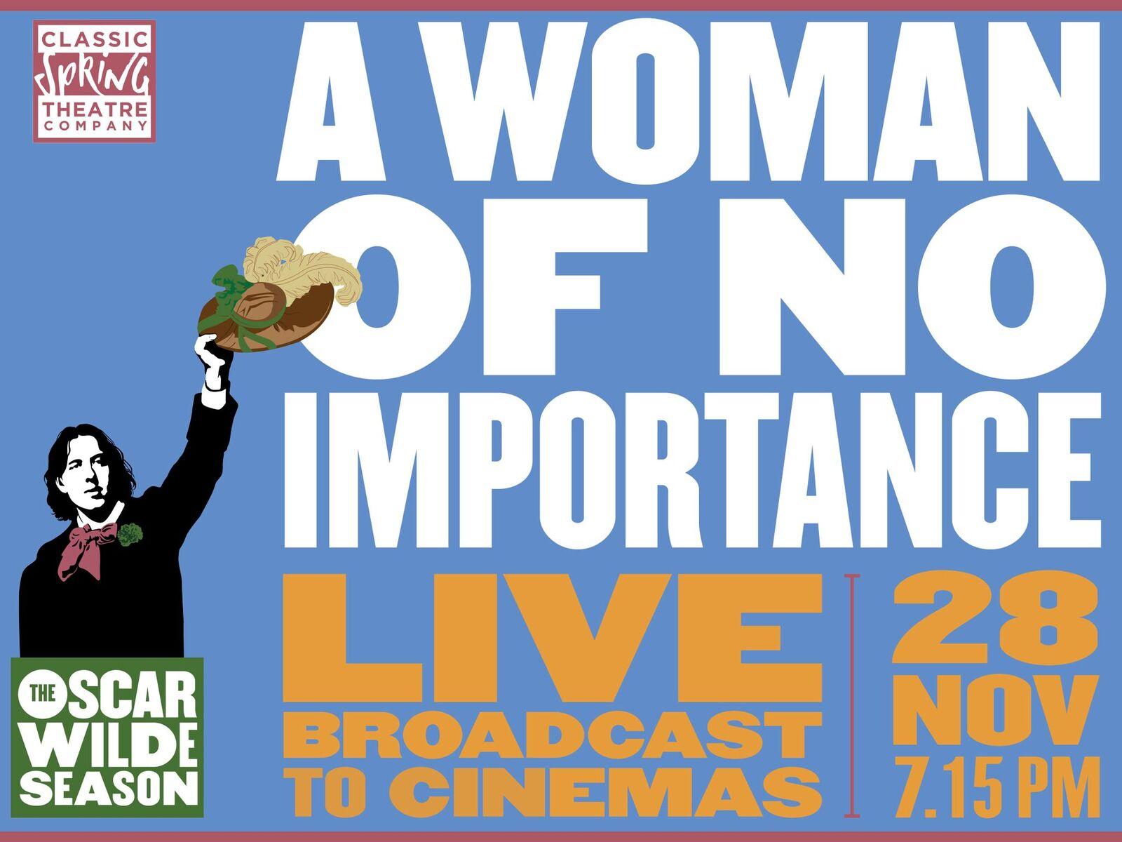 a woman of no importance by Olivier award-winner eve best (a moon for the misbegotten and hedda gabler) and bafta-nominated actress anne reid (last tango in halifax) star in this new classically staged production of.