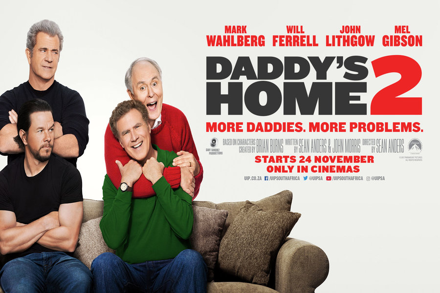 Image result for daddy's home 2 poster