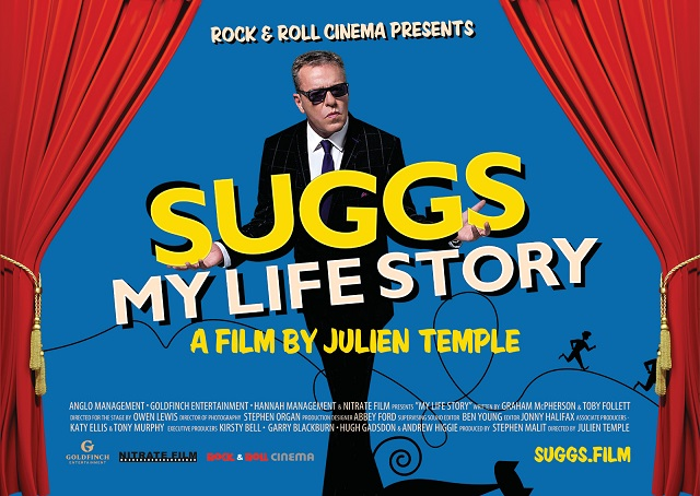 SUGGS:  MY LIFE STORY.