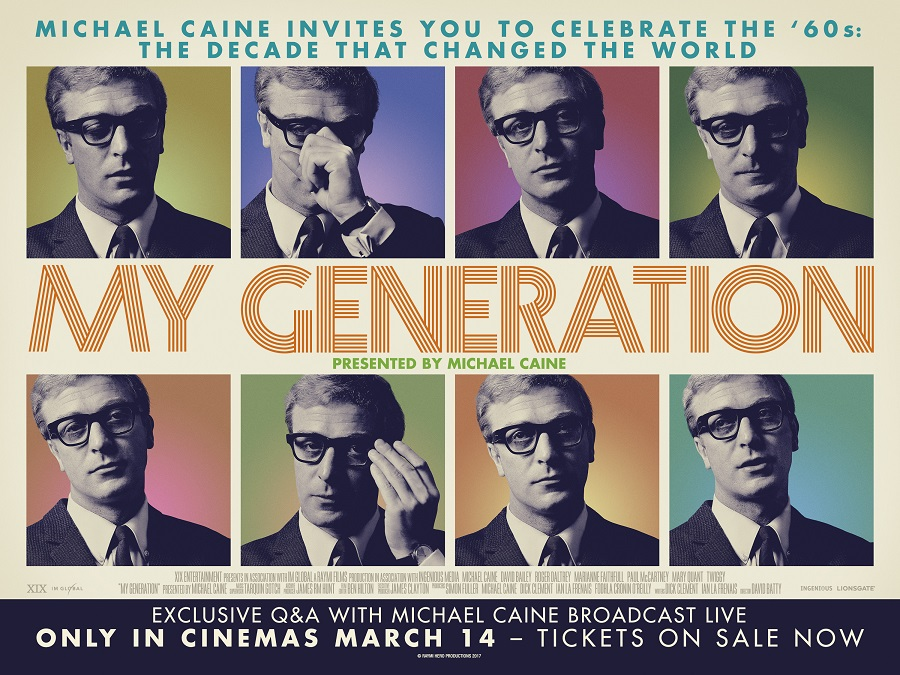 My Generation & Live Q & A with Michael Caine