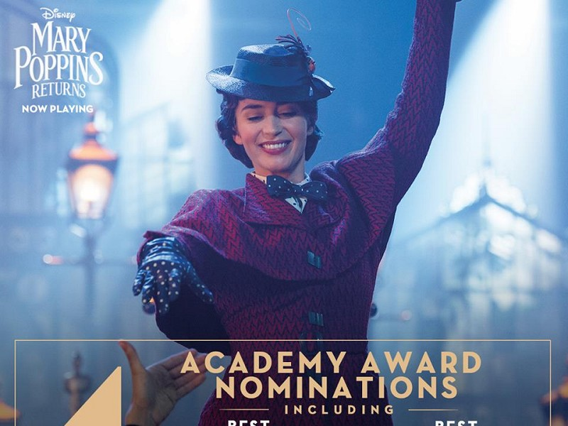 Mary Poppins Returns (Oscar Nominated)