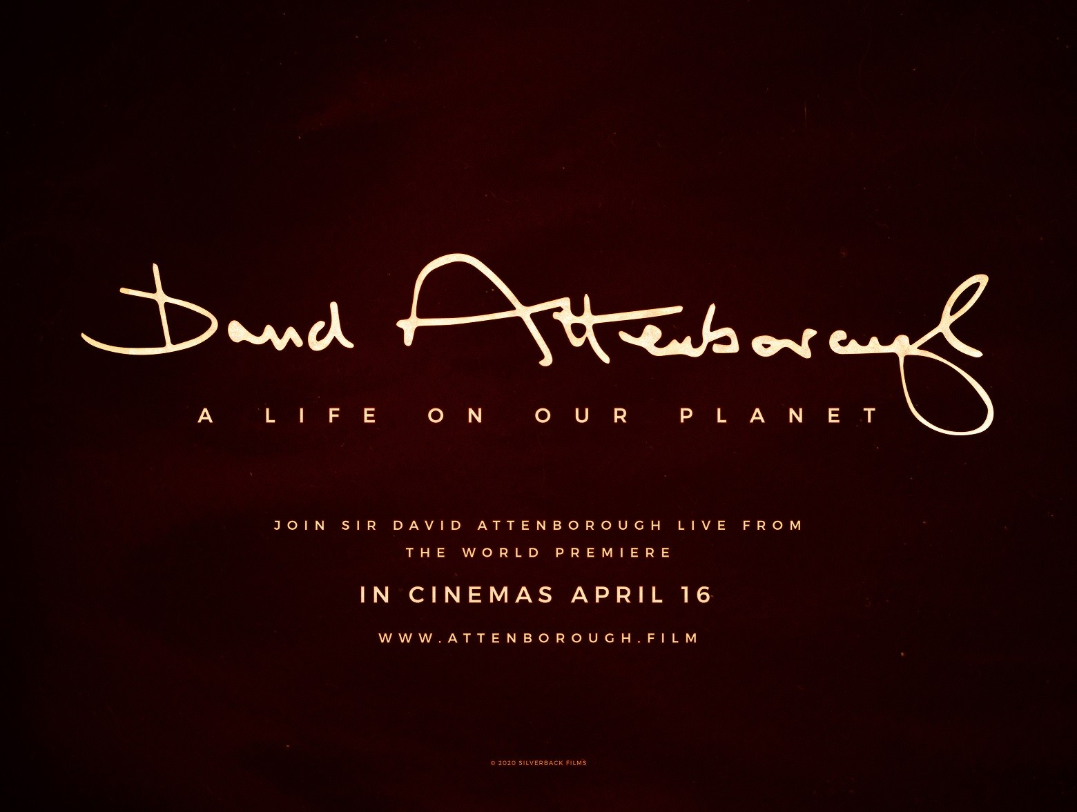 David Attenborough: A Life on Our Planet Live