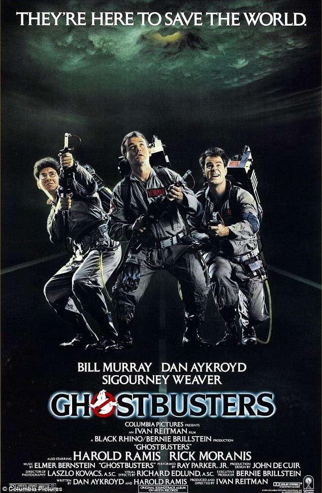 Ghostbusters Outdoors