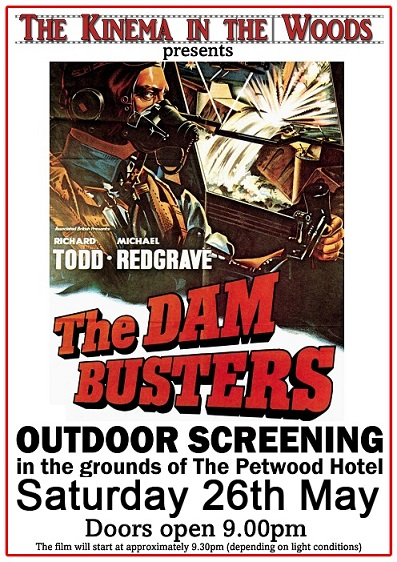 'The Dam Busters' Outdoors at The Petwood Hotel