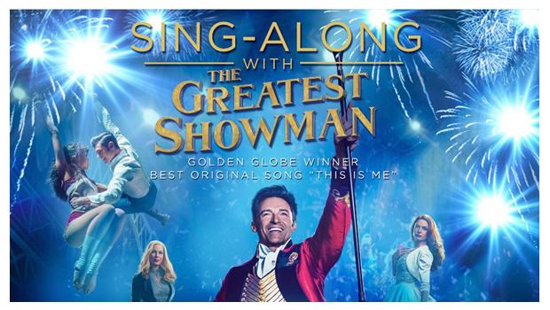 Greatest Showman Sing-Along