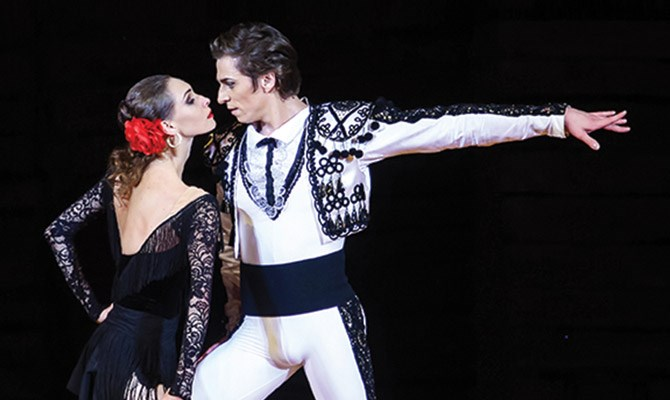 Bolshoi Carmen Suite/Petruchka