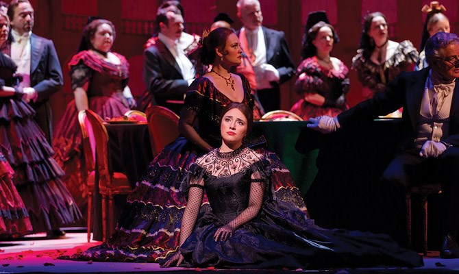 Royal Opera La Traviata