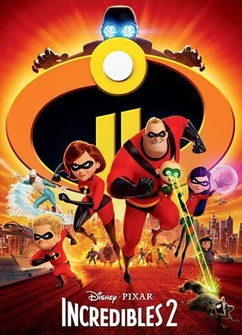 The Incredibles 2 2D