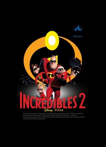 The Incredibles 2 3D