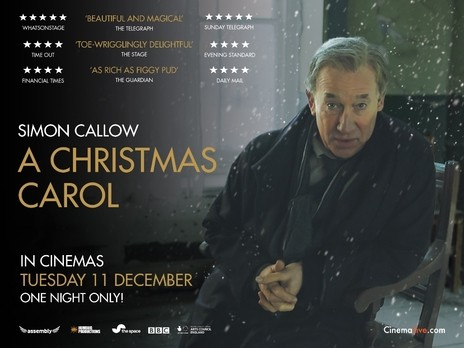 Simon Callow Christmas Carol