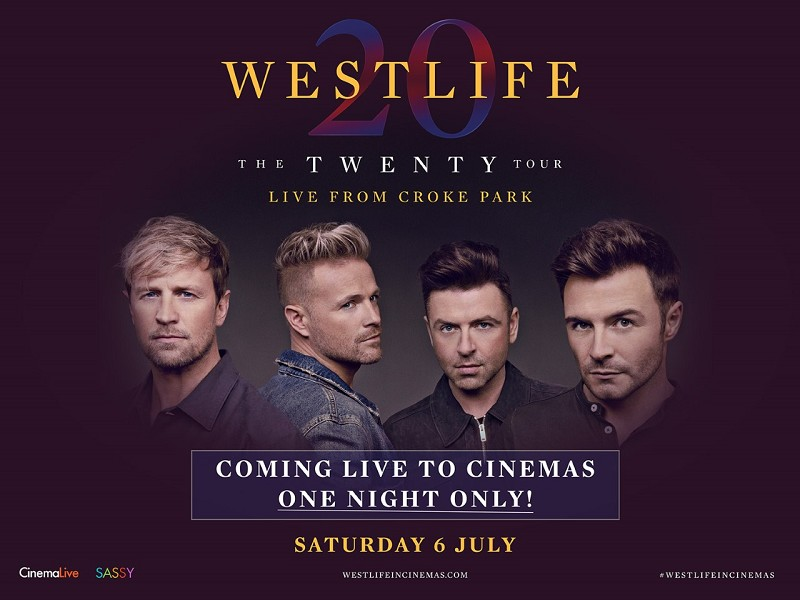 Westlife: The Twenty Tour
