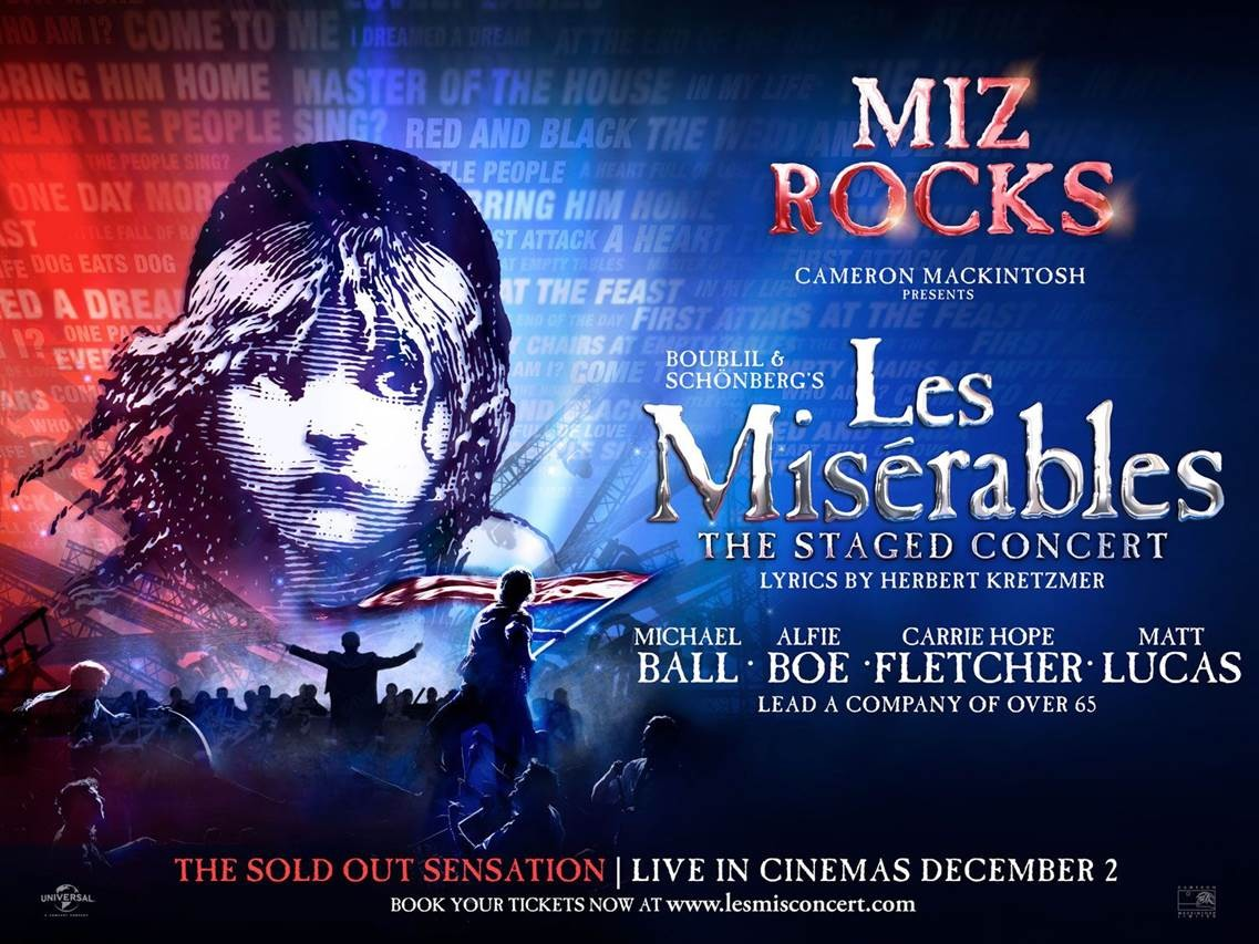 Les Miserables-The Staged Concert Live