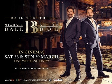 Michael Ball Alfie Boe Back Together