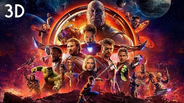 Avengers: Infinity War in 3D