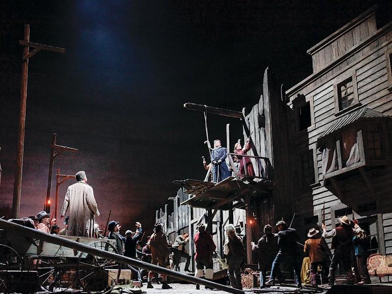 MET Opera LA FANCIULLA DEL WEST