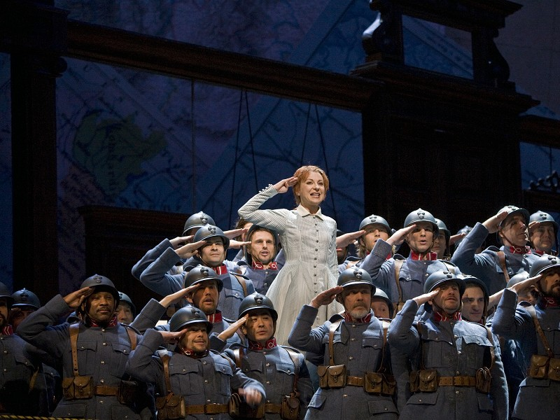 MET Opera LA FILLE DU RÉGIMENT
