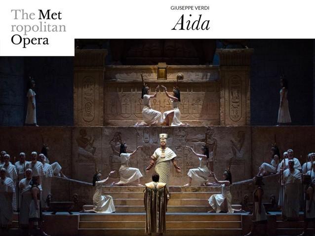 MET Opera AIDA