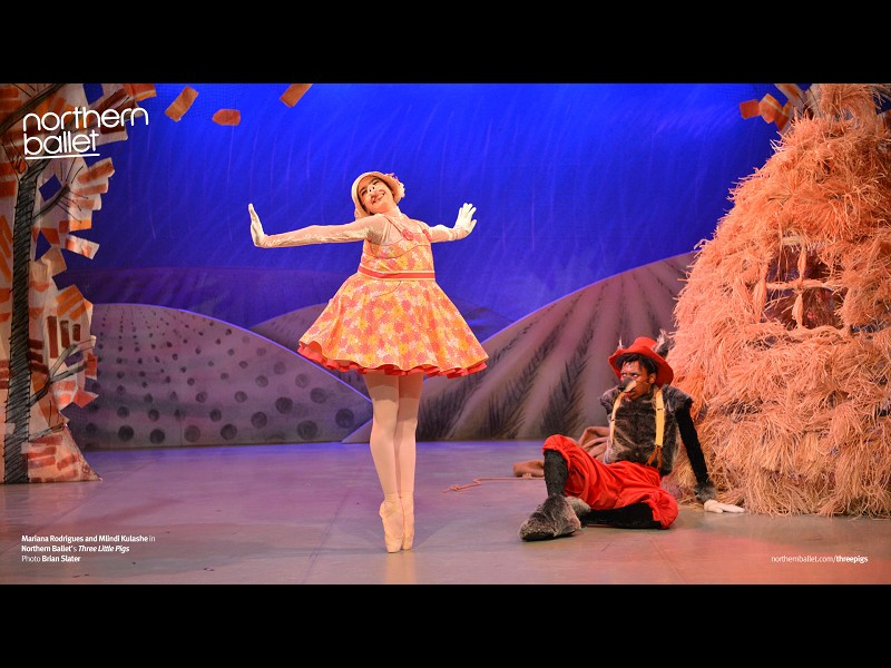 THREE LITTLE PIGS (NORTHERN BALLET)