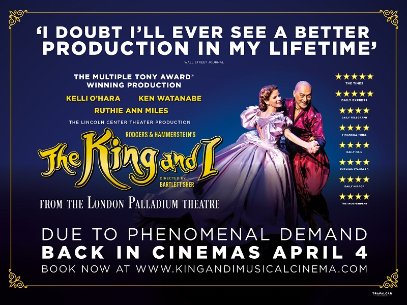 The King & I from the London Palladium