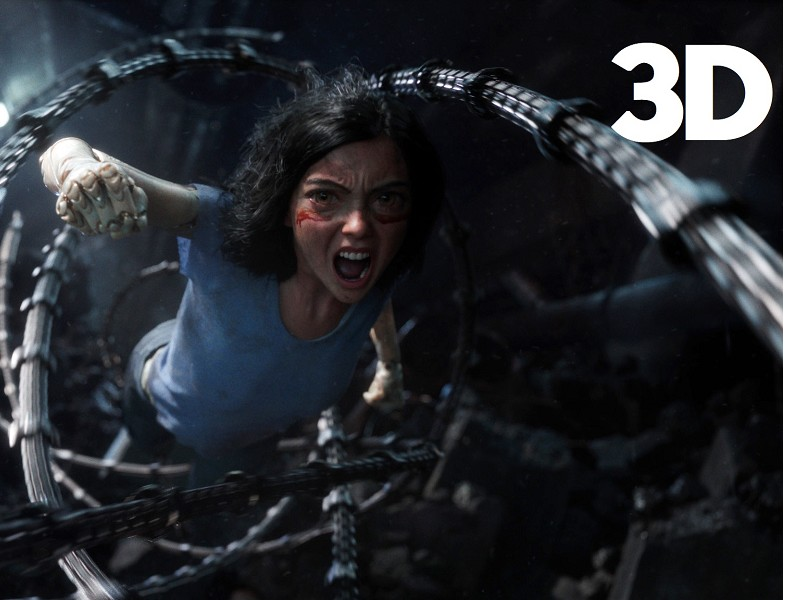 Alita: Battle Angel in 3D