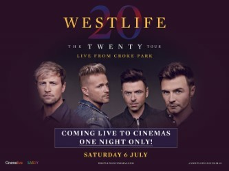 WESTLIFE LIVE - THE TWENTY TOUR