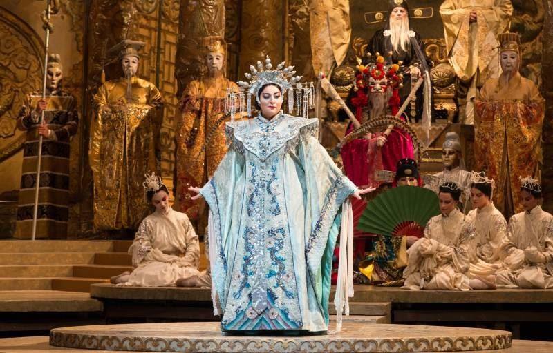 Met Opera: Turandot.