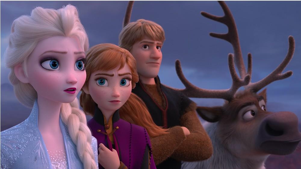 Frozen II in 3D