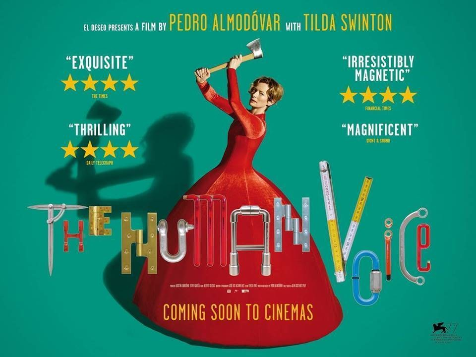 Pedro Almodovar's The Human Voice + Q&A