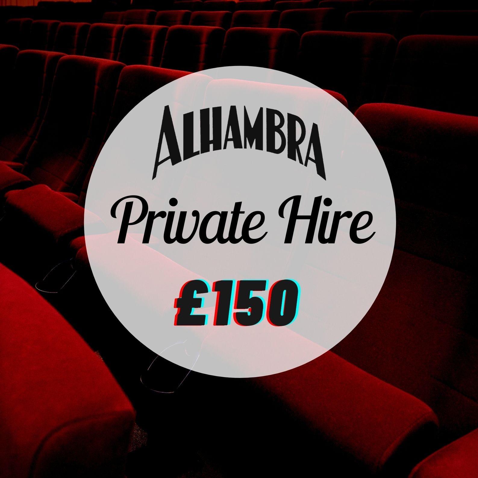 Private Hire- Screen 3- £150